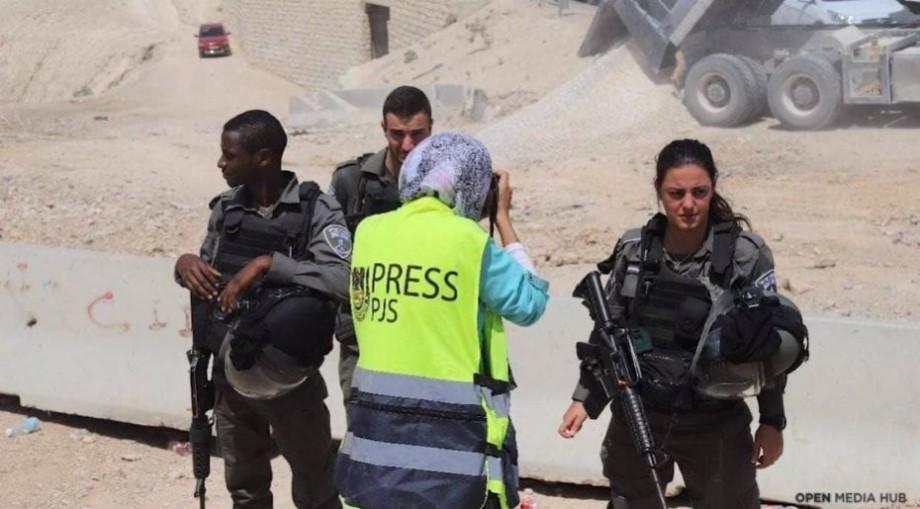 """(video) """"Am fost împușcată în timp ce lucram"""". O tânără povestește cum e să fii jurnalistă în Palestina"""