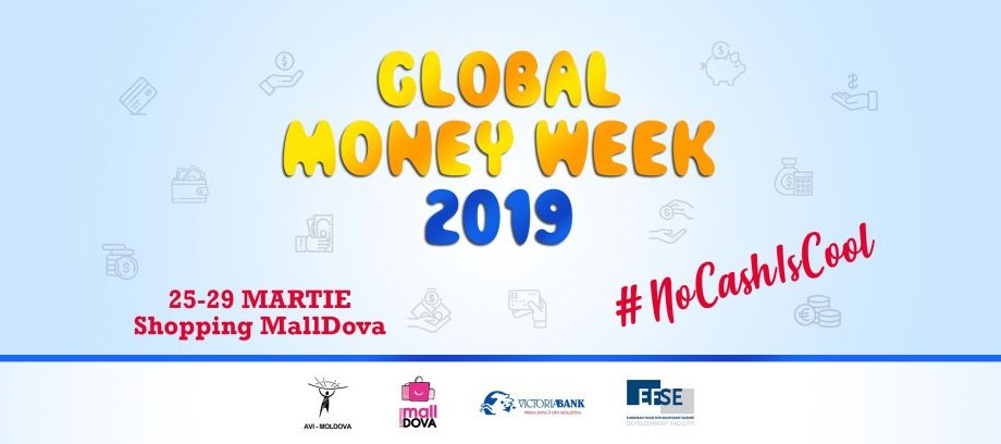 Educația financiară pentru copii și tineri. Participă la concursurile interactive de la Global Money Week