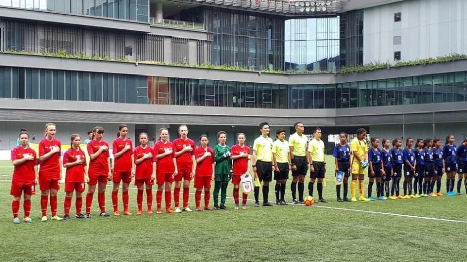 (video) 5-0 pentru Moldova. Naționala de fete U-15 a debutat cu o victorie categorică la turneul internațional din Singapore