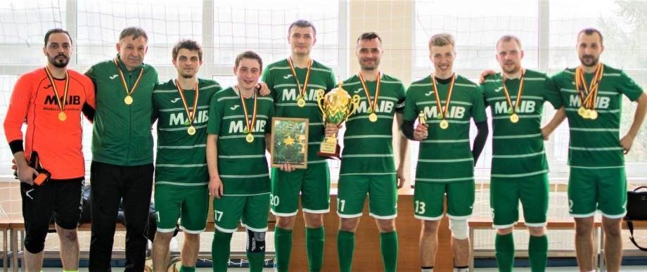 Echipa de fotbal a MAIB a cucerit cupa Turneului Footbaleague, ediţia a VII-a