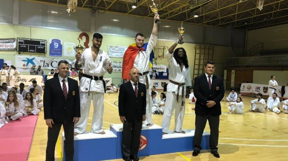 """(foto) Sportivul moldovean, Constantin Dogari, a câștigat medalia de aur la campionatul """"Spanish Open 2019"""""""