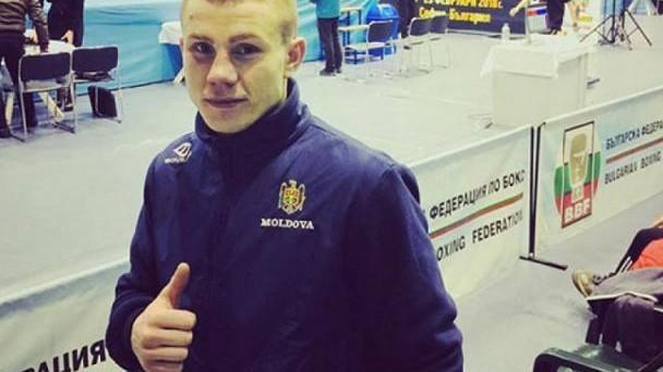 Dorin Bucșa s-a calificat în finala Europenelor U-22. Cu cine va lupta boxerul moldovean pentru titlu de campion
