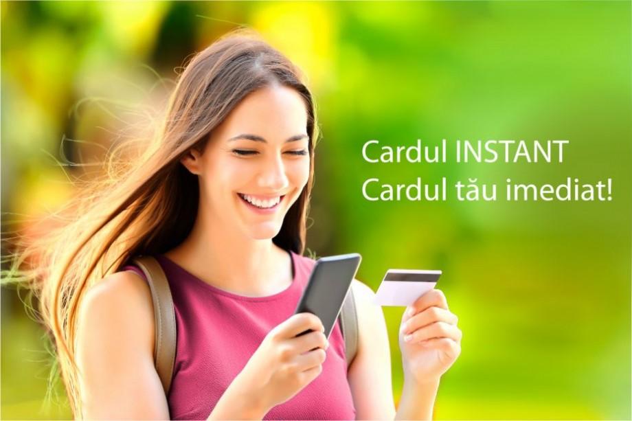 Cardul bancar Instant de la Moldova Agroindbank – un card pe care-l primeşti imediat