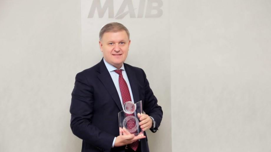 """Moldova Agroindbank a primit distincția """"Cea mai bună bancă comercială din Moldova"""", 2019"""