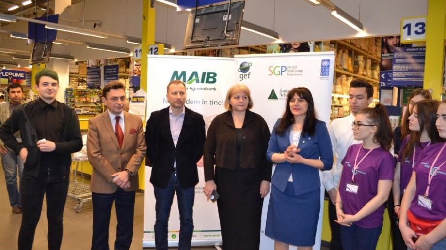 """METRO Cash&Carry Moldova susține educația antreprenorială prin implicarea activă în cadrul proiectului """"Promovarea activităților ecologico-antreprenoriale în mediul rural"""""""