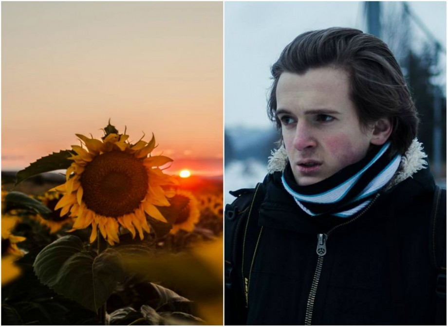 """(foto) """"Soarele este subiectul principal în lucrările mele"""". Apusul de soare prin obiectivul camerei de fotografiat a unui tânăr de 17 ani"""