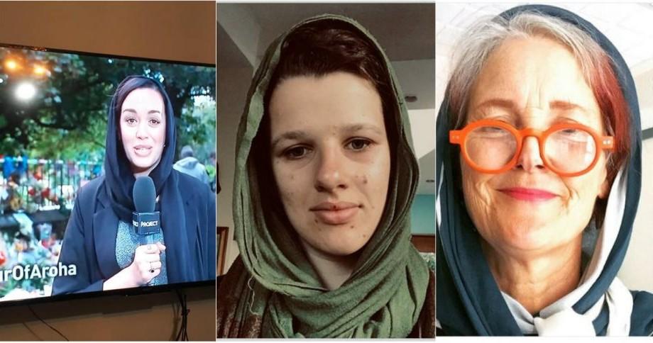 (foto) Femeile din Noua Zeelandă au purtat hijab în semn de suport pentru comunitatea musulmană