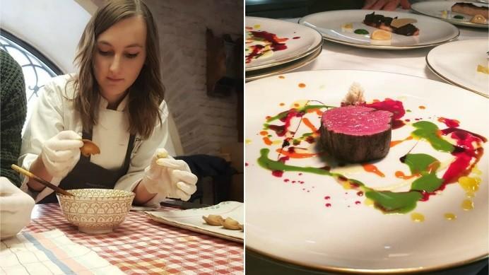 (foto) Tânăra din Moldova care gătește cele mai gustoase bucate la cel mai bun restaurant din lume din 2018