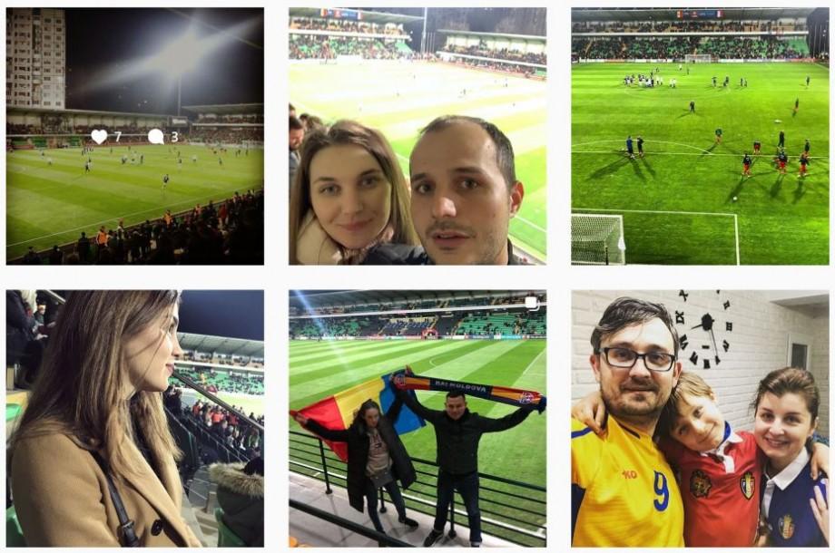 Cum se vede meciul Moldova-Franța pe rețelele de socializare