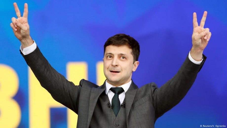 Rezultatele primului exit-poll: Zelenski câștigă alegerile din Ucraina cu 73% din voturi
