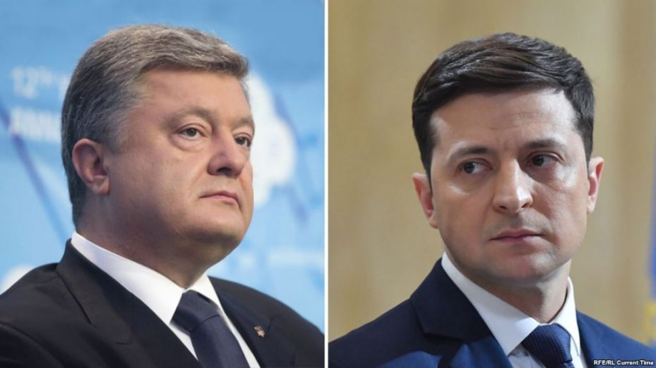 60% din buletine procesate: Zelenski și Poroșenko se vor lupta în turul II
