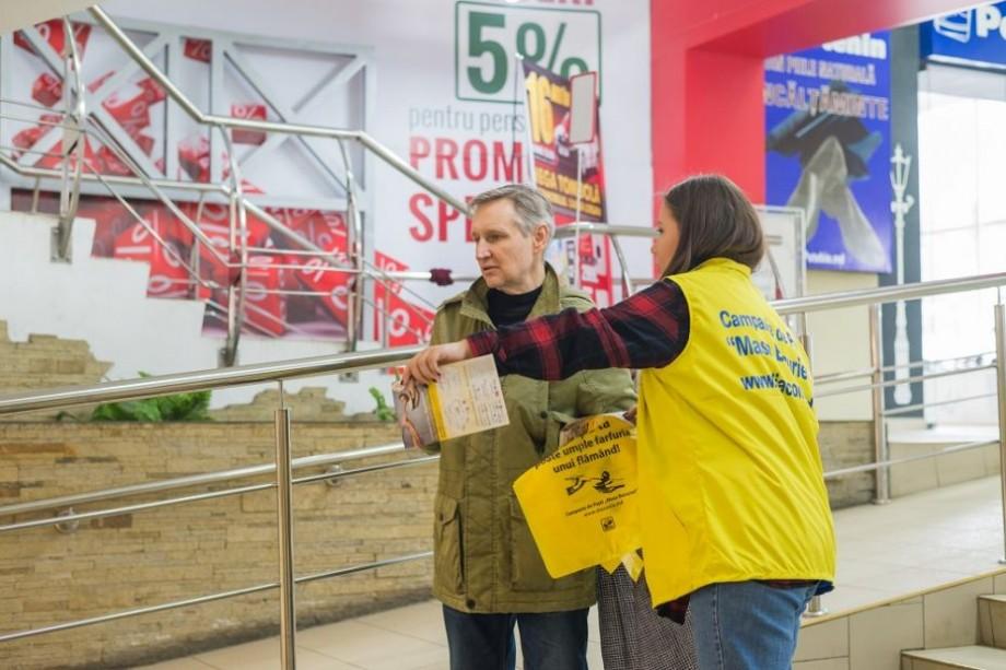 (foto) Cod galben de bunătate la nivel național. Când și unde puteți dona produse alimentare pentru persoanele nevoiașe