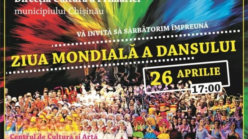 Primăria Chișinău marchează, astăzi, Ziua Mondială a Dansului. Ce eveniment a pregătit