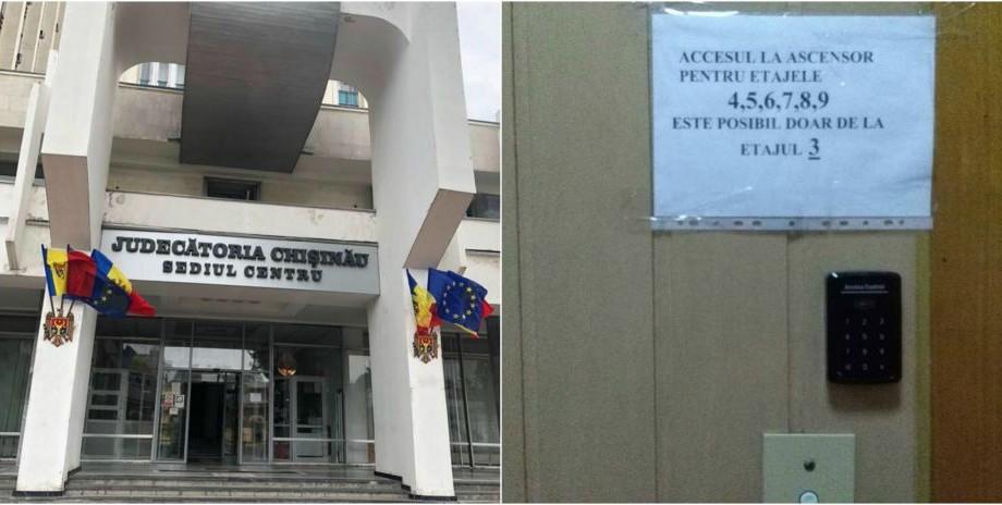 Jur să apăr punctualitatatea. Un tânăr în scaun cu rotile nu a ajuns la propriul proces fiindcă Judecătoria Chișinău nu avea acces la lift