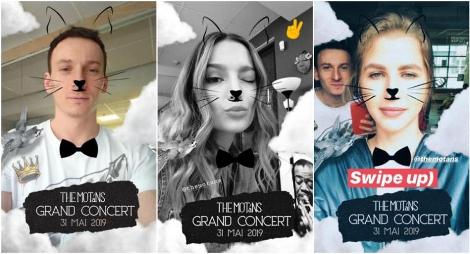 (foto) Urechiușe, mustăți, năsuc drăguț și papion. The Motans și-a lansat propriul filtru de Instagram