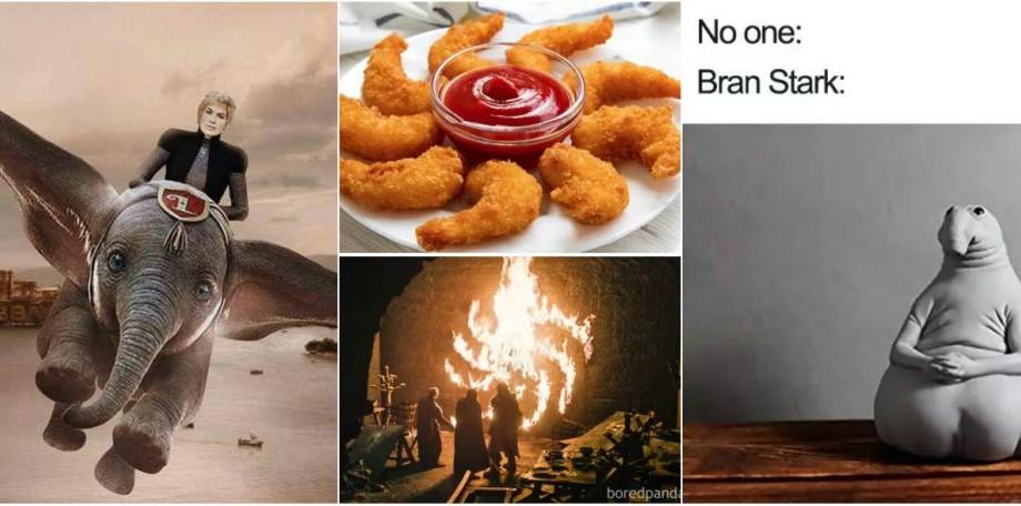 (foto) Ce mai elefantice meme-uri după prima serie Game of Thrones (posibil spoilere)