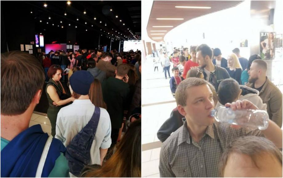 (foto) Sfârșitul e tot mai aproape. La Chișinău s-au format cozi imense pentru biletele la filmul Avengers: Endgame