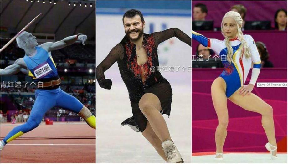 (foto) Cum ar arăta actorii din Game of Thrones dacă ar fi gimnaști care reprezintă o țară la Jocurile Olimpice