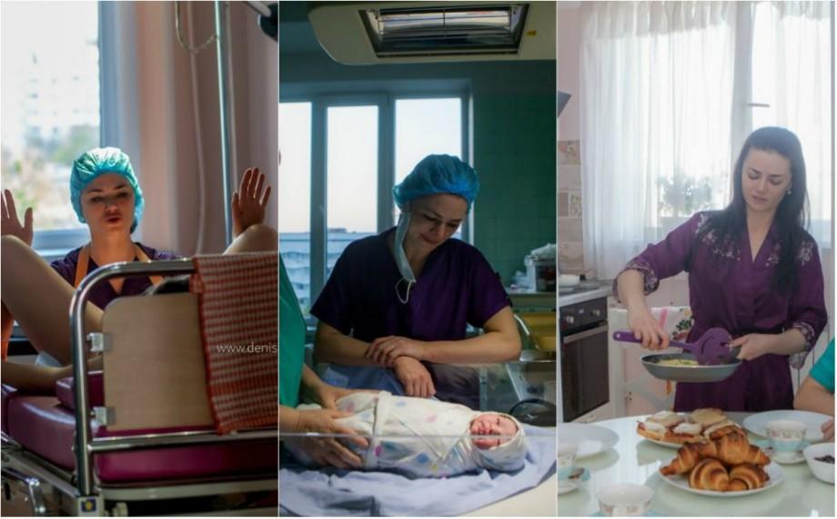 (foto) 24 de ore din viața unei angajate a Institutului Mamei și Copilului, surprinse de un fotograf din Chișinău