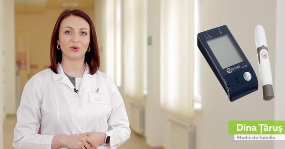(video) Sfatul doctorului. Cum utilizăm corect glucometrul în condițiile casnice