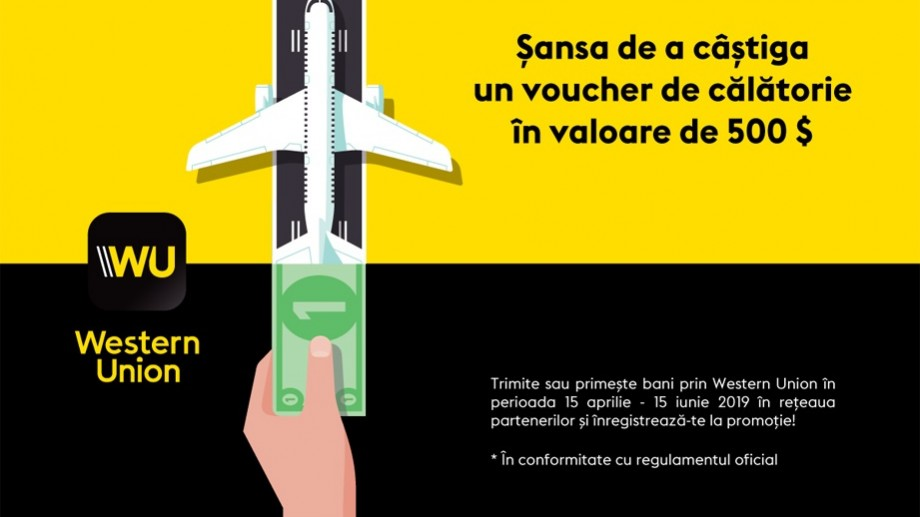 Câştigă un voucher de vacanţă datorită transferurilor Western Union de la MAIB
