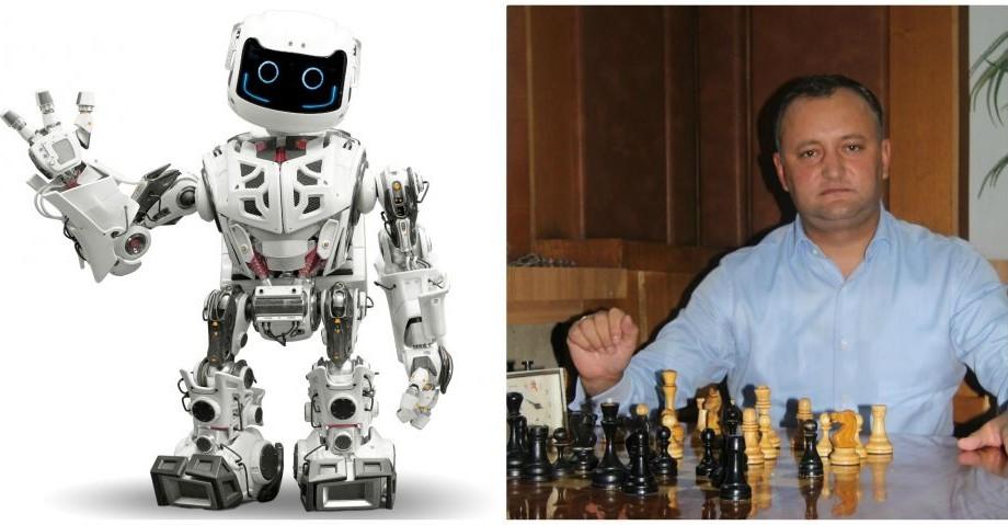 Inteligența artificială versus Inteligența umană. Președintele țării, Igor Dodon va juca șah cu un robot