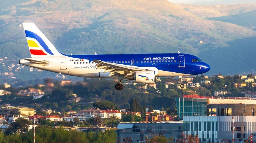 Air Moldova a lansat astăzi zborul spre Nisa, Franța. Cursa va fi operată de două ori pe săptămână