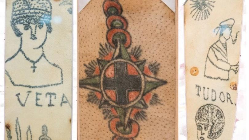 (foto) Primul a fost făcut în anul 1878. Cum arătau tatuajele românești din secolul 19
