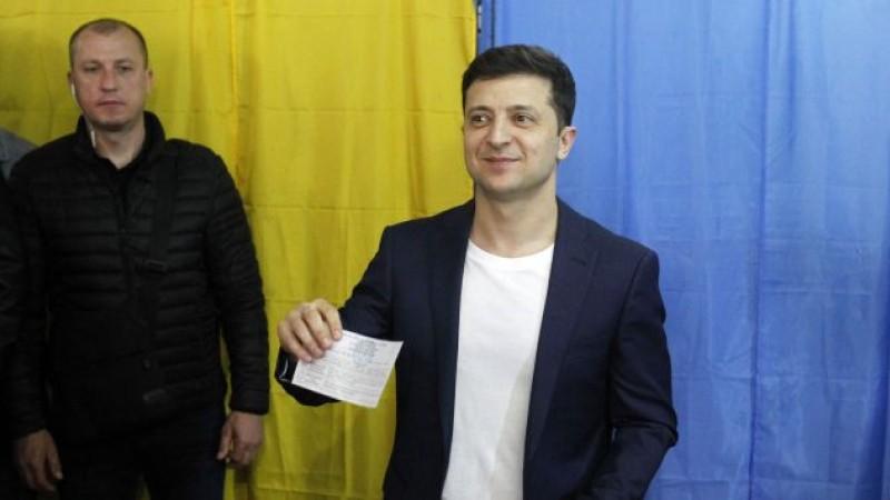 """""""Slujitorul Poporului"""", partidul lui Zelensky, a câştigat alegerile parlamentare din Ucraina"""