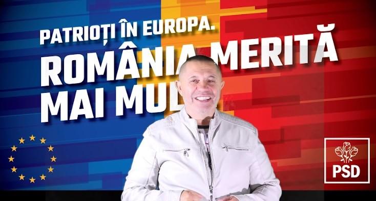 """(video) Dansuri din buric pentru PSD. Nicolae Guță a lansat o manea electorală, în care îndeamnă alegătorii să voteze """"trandafirii"""" din România"""