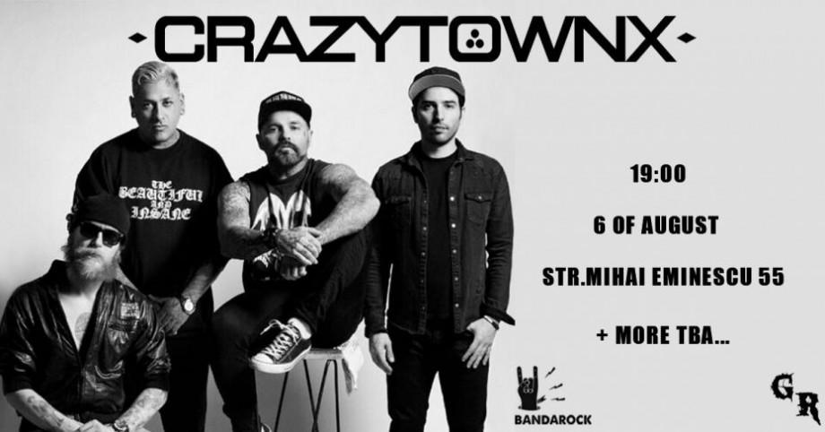 """""""Come my lady, come come my lady!"""" Crazy Town vine cu un concert la Chișinău"""