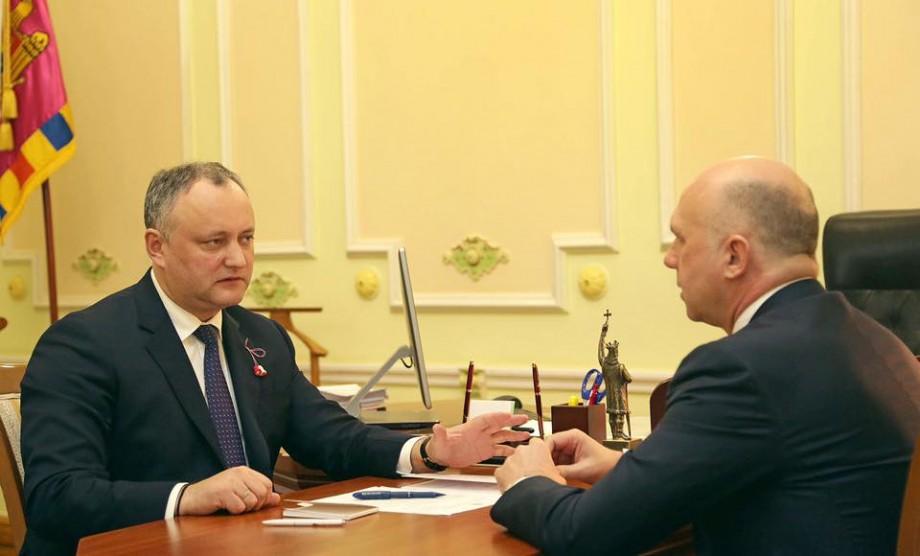 """Igor Dodon """"dă o lună"""" parlamentarilor să-și aleagă o conducere. În caz contrar, va dizolva Parlamentul"""