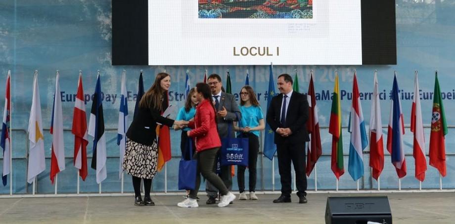 """Lista elevilor câștigători ai concursului """"Europa: culorile prezentului şi viitorului"""""""