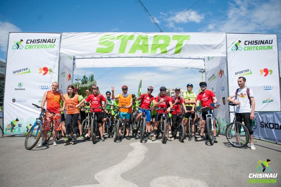 """Cursa anuală de ciclism """"Chișinău Criterium"""" va avea loc peste 10 zile. Înregistrează-te la competiție"""
