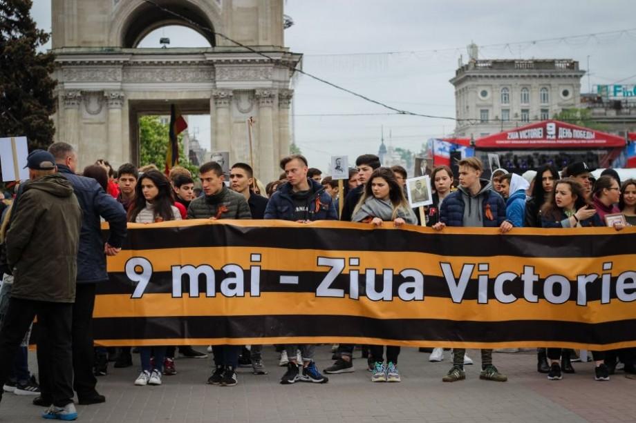 Victorie vs Europa. Mai multe partide au organizat astăzi în centrul Chișinăului o serie de manifestații
