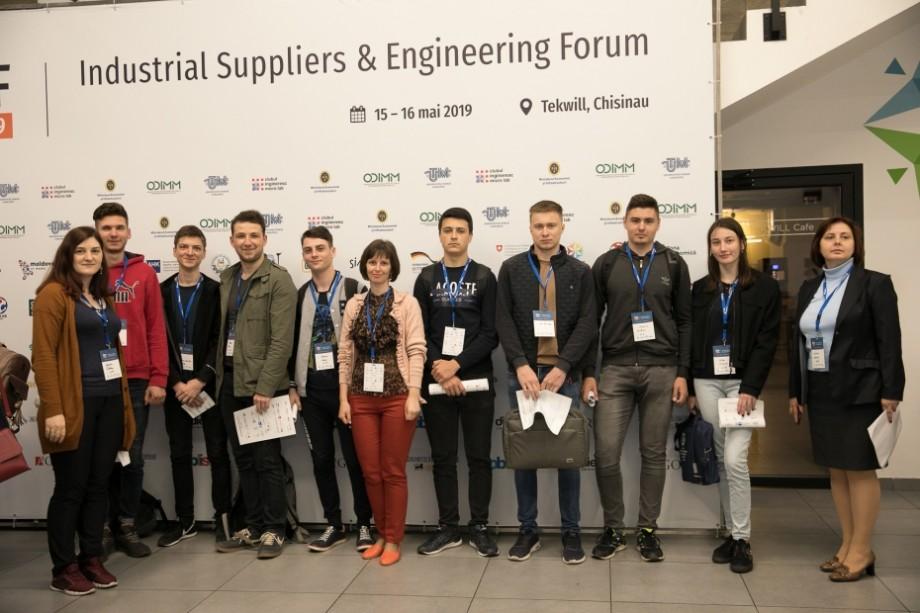 Peste 80 de companii din domeniile electronice, mecanice și IT au participat la Forumul industrial și de inginerie de la Tekwill