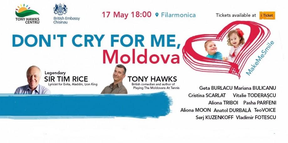 """Don't cry for me Moldova! Make me smile!"". Legendarul Sir Tim Rice vine la Chişinău"