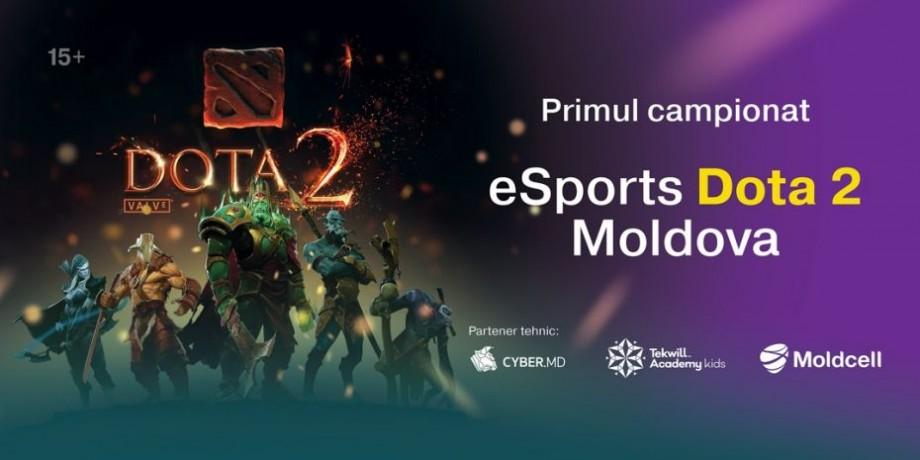 (foto, video) În Moldova se desfășoară primul Campionat eSports Dota 2