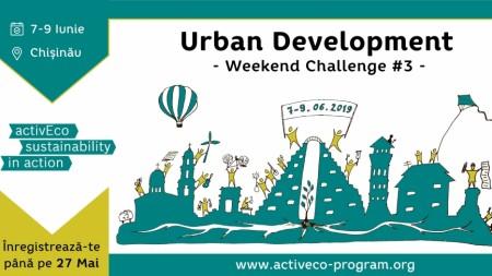 Află cum să îți dezvolți orașul prin intermediul urbanismului. Înscrie-te la seminar și câștigă mini-granturi de la EcoVisio
