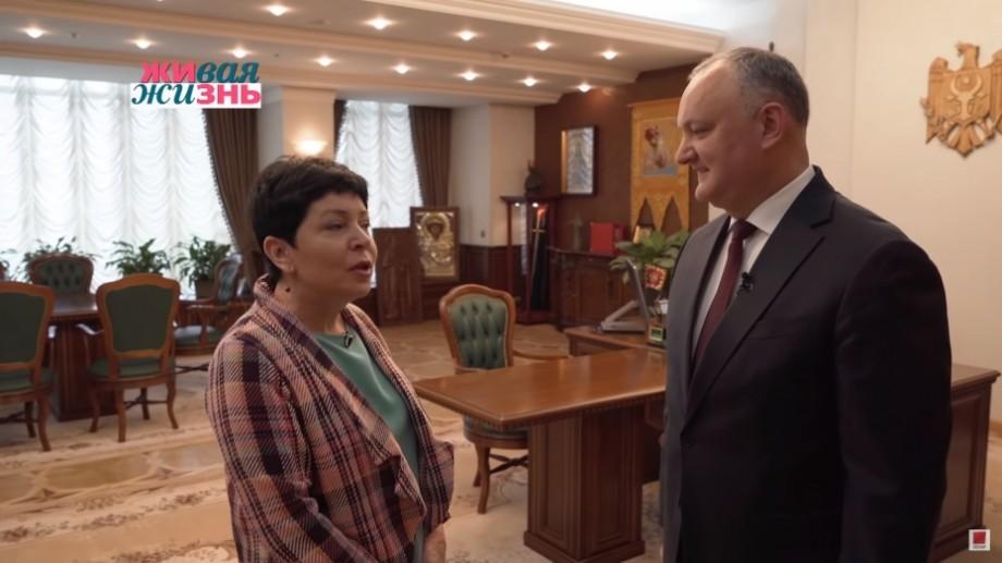 """(video) """"Îmi pare că Igor v-a ajutat"""". O televiziune din Rusia a realizat un film despre turismul din Moldova la inițiativa lui Igor Dodon"""