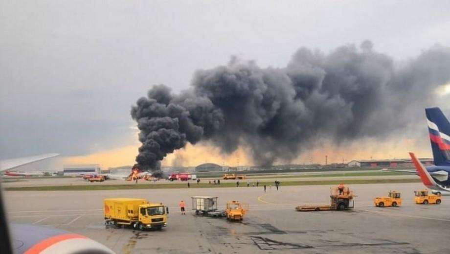 Mai multe avioane SSJ 100, au rămas la sol din cauza dezastrului din Moscova