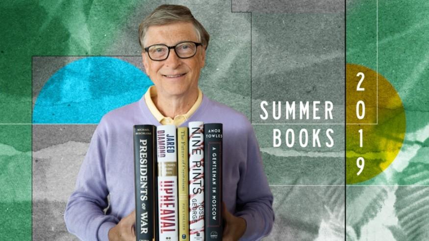(foto, video) Bill Gates îți recomandă cinci cărți pe care merită să le citești în această vară