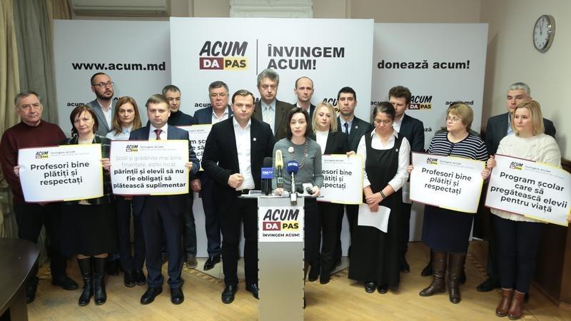Blocul ACUM va avea candidați pentru cele 4 circumscripții electorale, în care vor avea loc alegeri parlamentare noi
