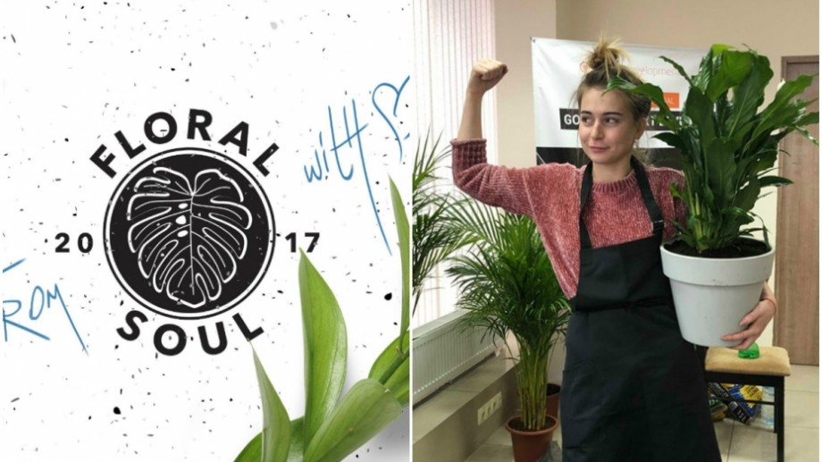 Floral Soul, un startup colorat în verde. Cum e să înființezi o afacere cu plante în Moldova