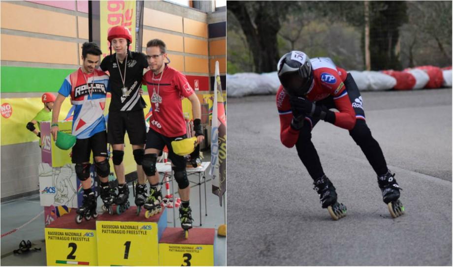 """(video) #Sportul meu există. Adrian Gumanița vorbește despre Inline Downhill. """"Când am urcat pe podium cu drapelul Moldovei a fost emoționant"""""""