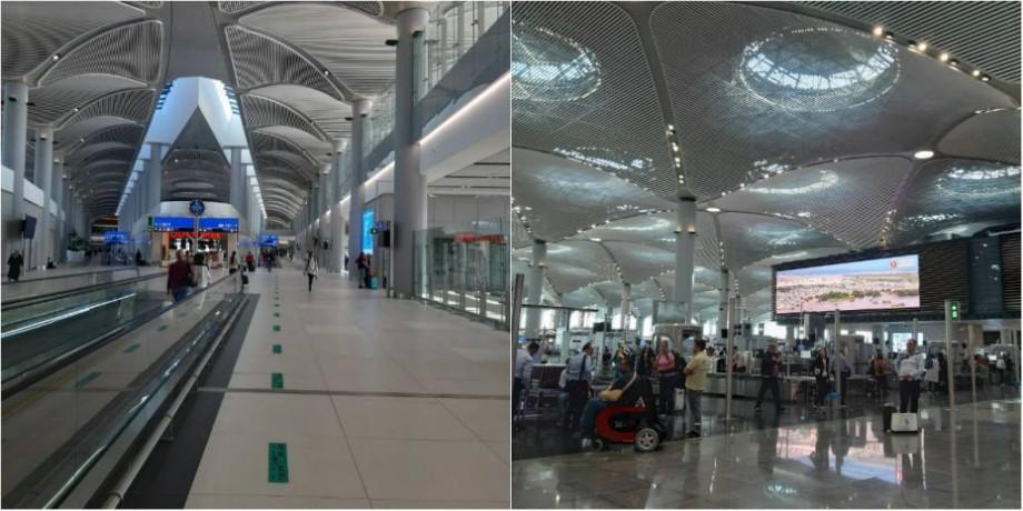 (foto, video) Cum arată din interior noul aeroport din Istanbul, care a costat 12 miliarde de dolari