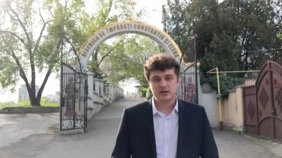 """(video) """"3 minute de istorie"""" despre Biserica Sfinții Împărați Constantin și Elena din Chișinău"""