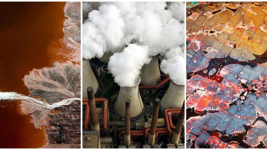 (foto) Imagini apocaliptice, surprinse de la înălțime, care ne arată impactul plouării industriale asupra mediului
