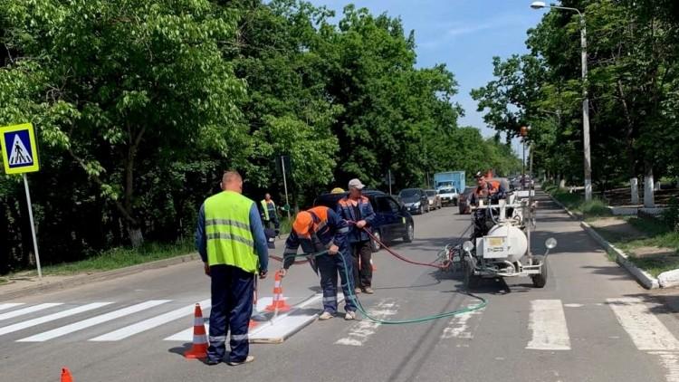 Marcajul rutier va fi aplicat în trei nuanțe: galben, alb și roșu. Ce semnifică fiecare culoare