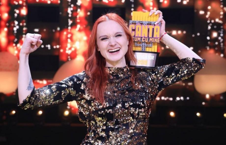 """(video) O tânără din Moldova a câștigat prima ediție """"Cântă acum cu mine"""""""